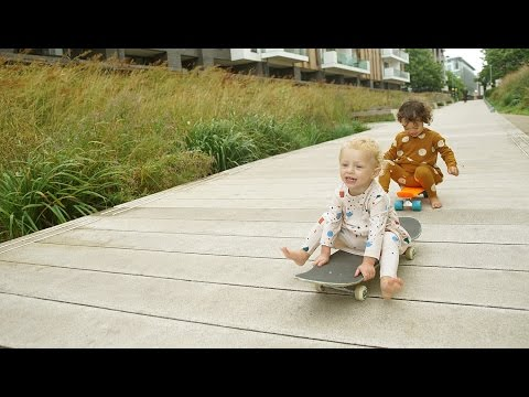 Hip Little People: Tiny Cottons Skate Date