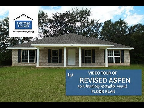 Heritage Homes - Revised Aspen (Handicap-Accessible Layout)