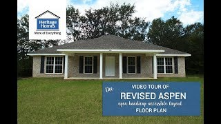 Heritage Homes - Revised Aspen Handicap-accessible Layout