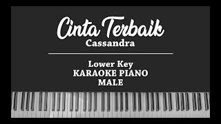 Cinta Terbaik (MALE KARAOKE PIANO COVER) Cassandra