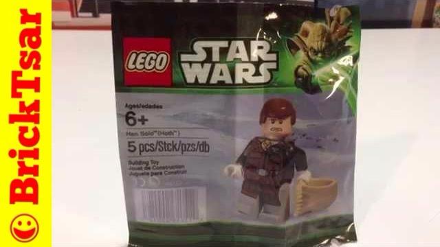 Han Solo Lego Star Wars Figur Polybag 5001621 ungeöffnet