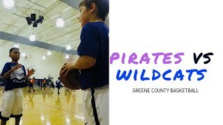🏀 Pirates vs Wildcats | Game 1 Highlights | Greene County Basketball