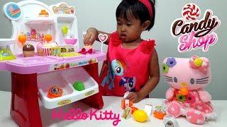 Mainan Anak MINI MARKET Playset 💖 Jualan Es Krim Kasir Kasiran 💖 Let's Play Jenica