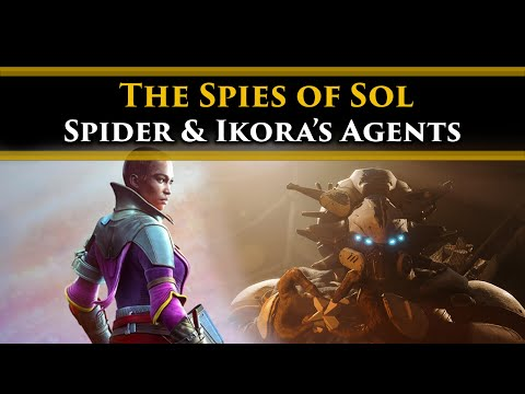 Destiny 2 Lore - What Ikora's Hidden Agents learned from Spying on The Spider & Caiatl.