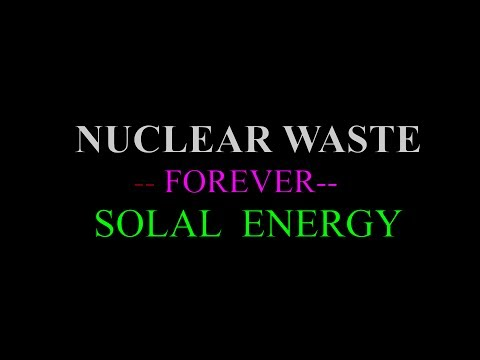 DEATH OF NUKE POWER REPLACED BY SUNPOWER