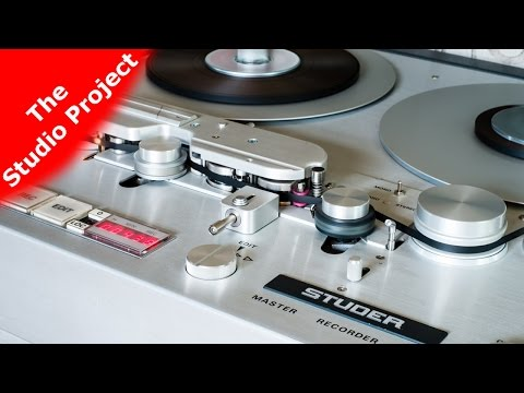 Our STUDER A80 (3): Details And Presentation  (The Studio Project Part 15)