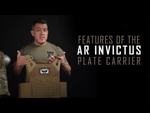 AR500 Armor AR Invictus Plate Carrier Specs