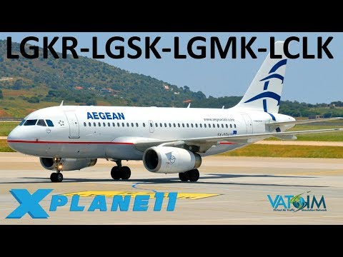 X-Plane 11 | A Tour of Greece + BSS A320 Official Release!! | Back to Europe | A319 A320 | VATSIM