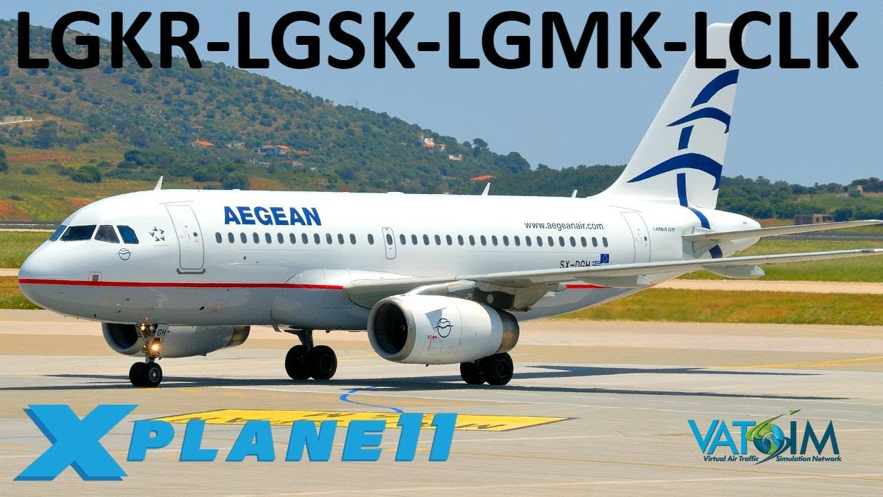Repeat X-Plane 11 | A Tour of Greece + BSS A320 Official Release