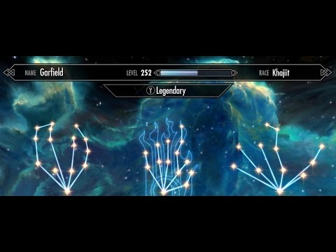 skyrim perks how to make them legendary not working
