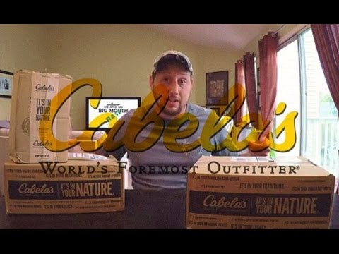 Large Cabela's Unboxing | Bass Fishing Tackle