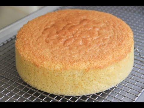 Sponge Cake Recipe - Japanese Cooking 101