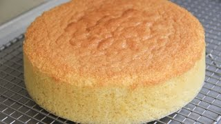 Sponge Cake Recipe - Japanese Cooking 101