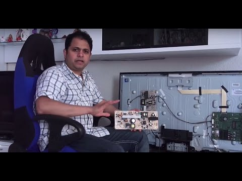 How to Repair an Sony LCD TV Power Supply Board (தமிழ்/Tamil)