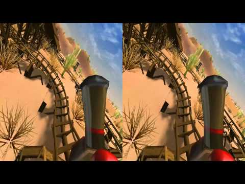 3D - VR/Active/Passive - Old Mine Roller Coaster - Camera 02