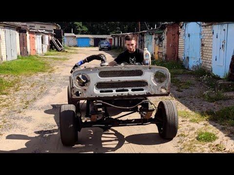 УАЗ турбо УМЗ 417. часть 9 пуск двигателя