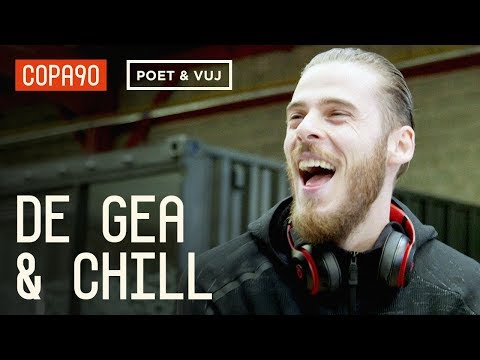 Facing Ronaldo and Bantering Arsenal  David De Gea & Chill ft Poet and Vuj