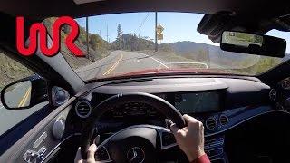 2017 Mercedes-Benz AMG E43 Sedan - WR TV POV Test Drive
