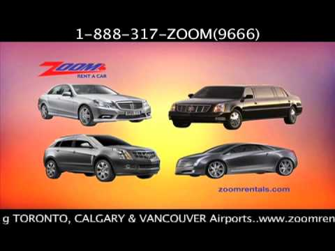 Zoom Rentals - Toronto Car Rental Company Advertisement