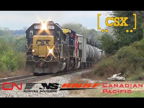 Railfanniing BNSF CN CSX CP in Dubuque, IA and E. Dubuque, IL