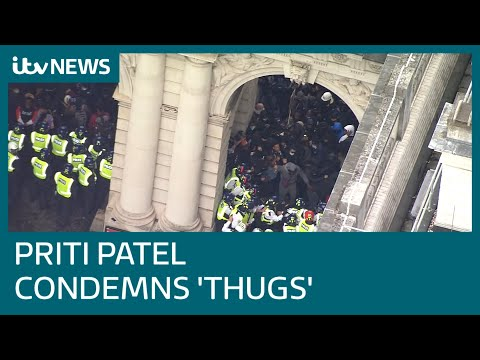 Priti Patel defends government record on racism as she condemns protester minority | ITV News