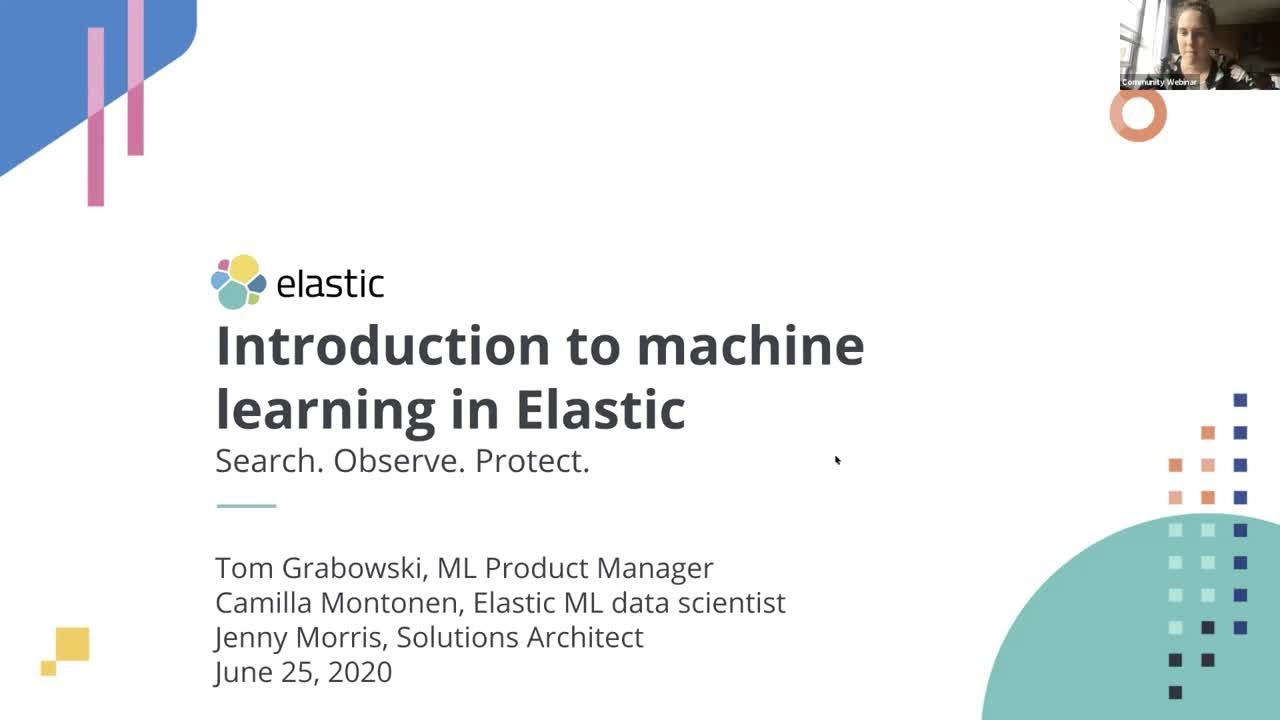 Introduction to Machine Learning in Elastic