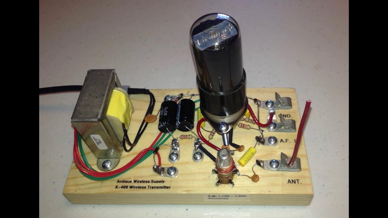 K-488 Radio Transmitter Kit (Vacuum Tube)