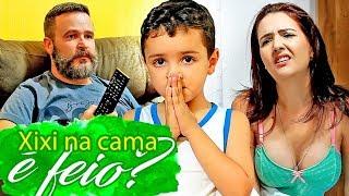XIXI NA CAMA É FEIO? FAMILIA PARAFUSO SOLTO