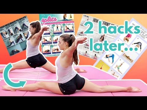 How Many Flexibility Hacks To Get Our Splits Down?