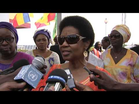 UN/AU Women Leaders visit-Central African Republic