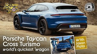 New Porsche Taycan Cross Turismo EV review - the world's quickest estate car