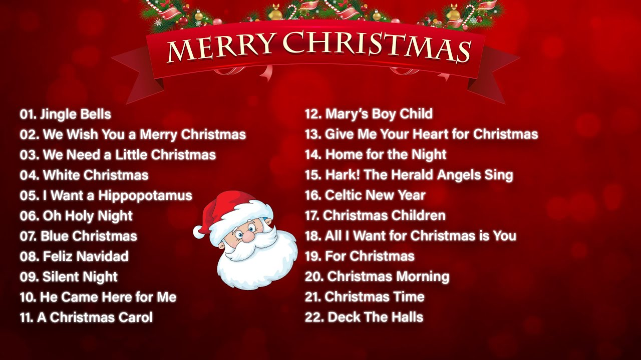 Merry Christmas 2020 Classic Christmas Songs Playlist Top Christmas Songs Playlist Youtube