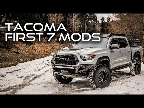 First 7 Mods for Your 2016-2019 Toyota Tacoma
