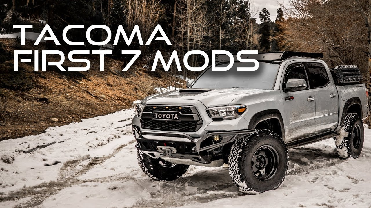 Toyota Tacoma Mods >> First 7 Mods For Your 2016 2019 Toyota Tacoma