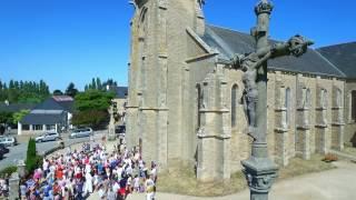 Doyenné d'Arradon (56) - visite des paroisses par drone
