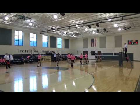 RCA vs Franklin Classical School MTAC Volleyball Championship 2016 SET 3