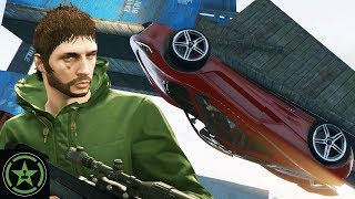 Let's Play  - GTA V - Stunters VS Snipers with Buckley and Lazarbeam