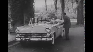 Ford's Fair Lane Estate New and First Ford 1955