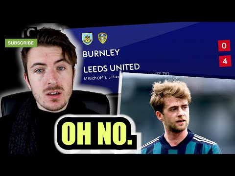 LEEDS UNITED ARE SCARING ME.