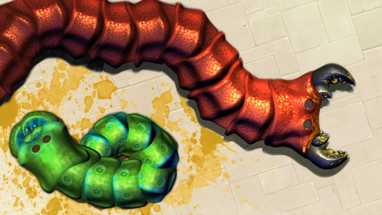 Download THE NEW SLITHER.IO? GIANT WORM DEATHMATCH! (Insatia Gameplay)