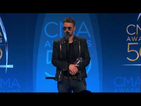 Eric Church Talks Winning CMAs Album of the Year Backstage