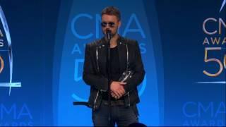 Eric Church Talks Winning CMA's Album of the Year Backstage
