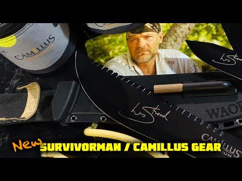 Les Stroud + Camillus Survivorman Survival Kits / Knives / SlingSHOT - Pt 1