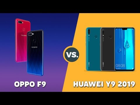 Speedtest OPPO F9 vs Huawei Y9 2019: Helio P60 vs Kirin 710 (GPU Turbo)