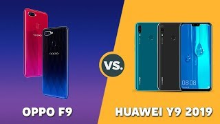 Speedtest OPPO F9 vs Huawei Y9 2019: Helio P60 vs Kirin 710 (GPU Turbo)