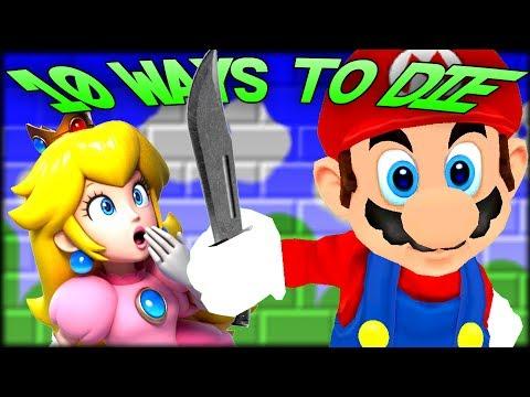10 DUMB WAYS TO DIE TO MARIO! Gmod