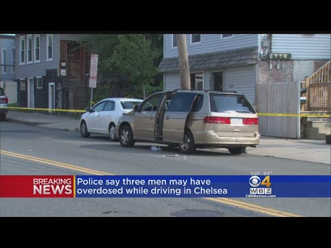 Police: 3 Men May Have Overdosed Before Crash In Chelsea