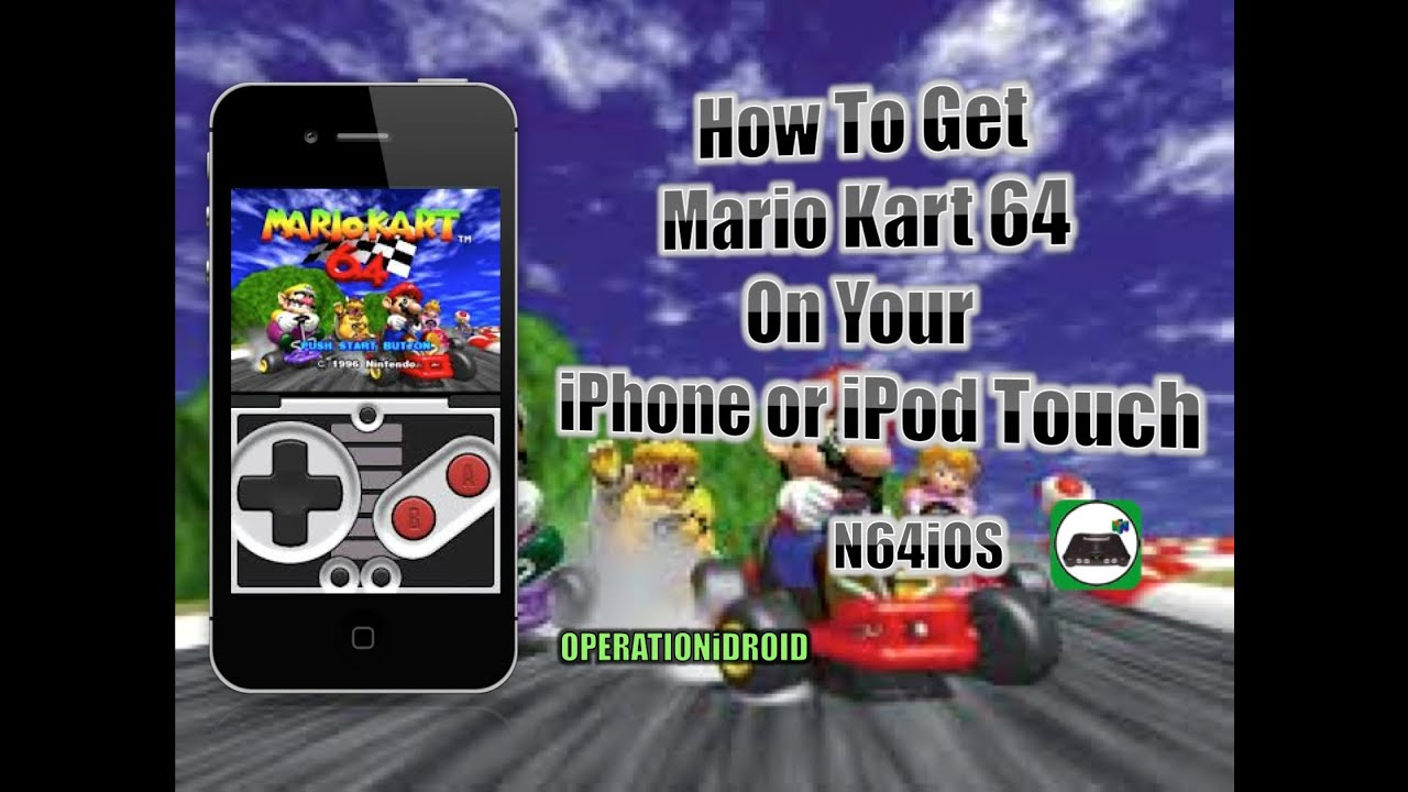 ios kart N64iOS: How to Get Mario Kart 64 iPhone,iPod Touch,iPad iOS 5 and  ios kart
