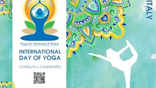 International Day of Yoga 2016 CONI Roma - Unione Induista Italiana - Libertas