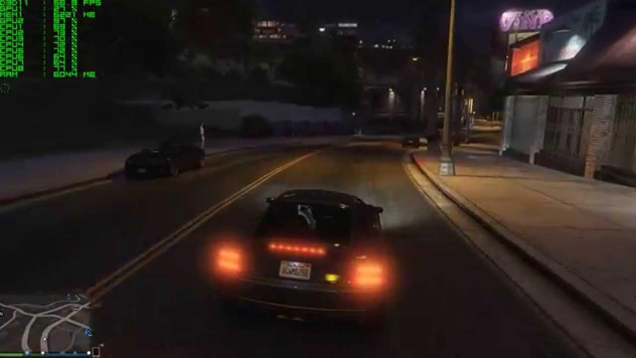 Grand Theft Auto V (GTA5) - XFX Radeon R9 295X2 - 1440p Ultra Settings  Gameplay Performance